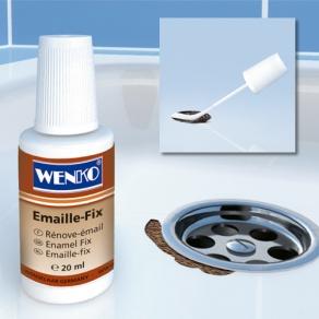 Emaille reparatie set om zelf bad of wasbak te repareren.