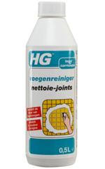 Voegen wit maken met HG Voegenreiniger